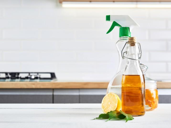 agua vinagre y limon