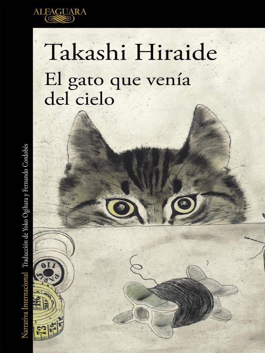 dia libro gato que venia cielo novela japonesa
