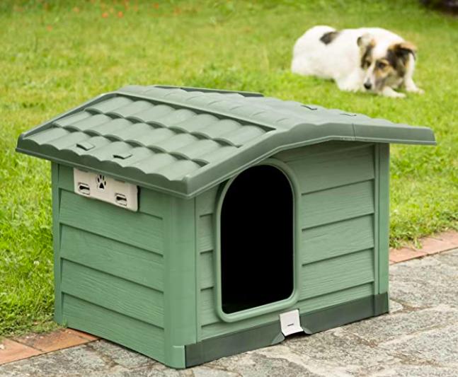 casetas para perros plastico jardin