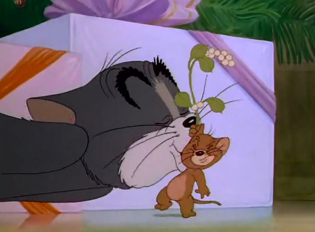 tom y jerry beso