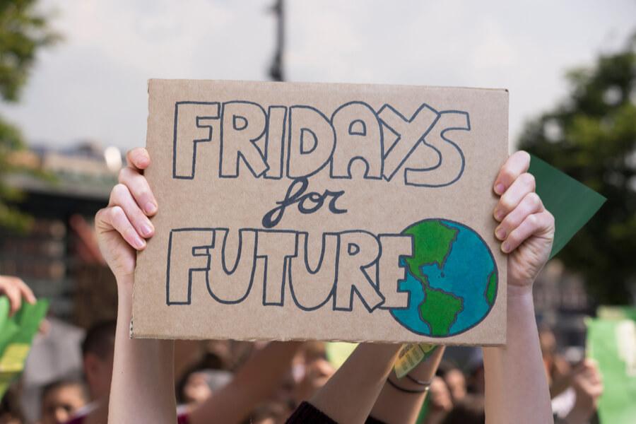 Fridays for Future Plakat