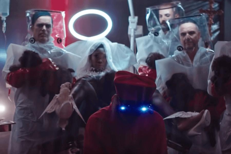 Ausschnitt Rammstein Video