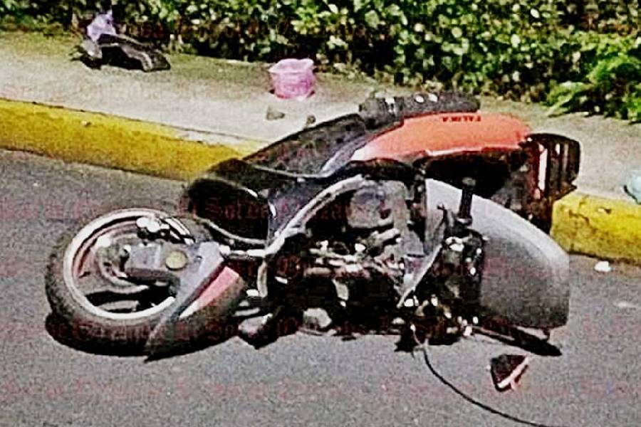 accidente de moto