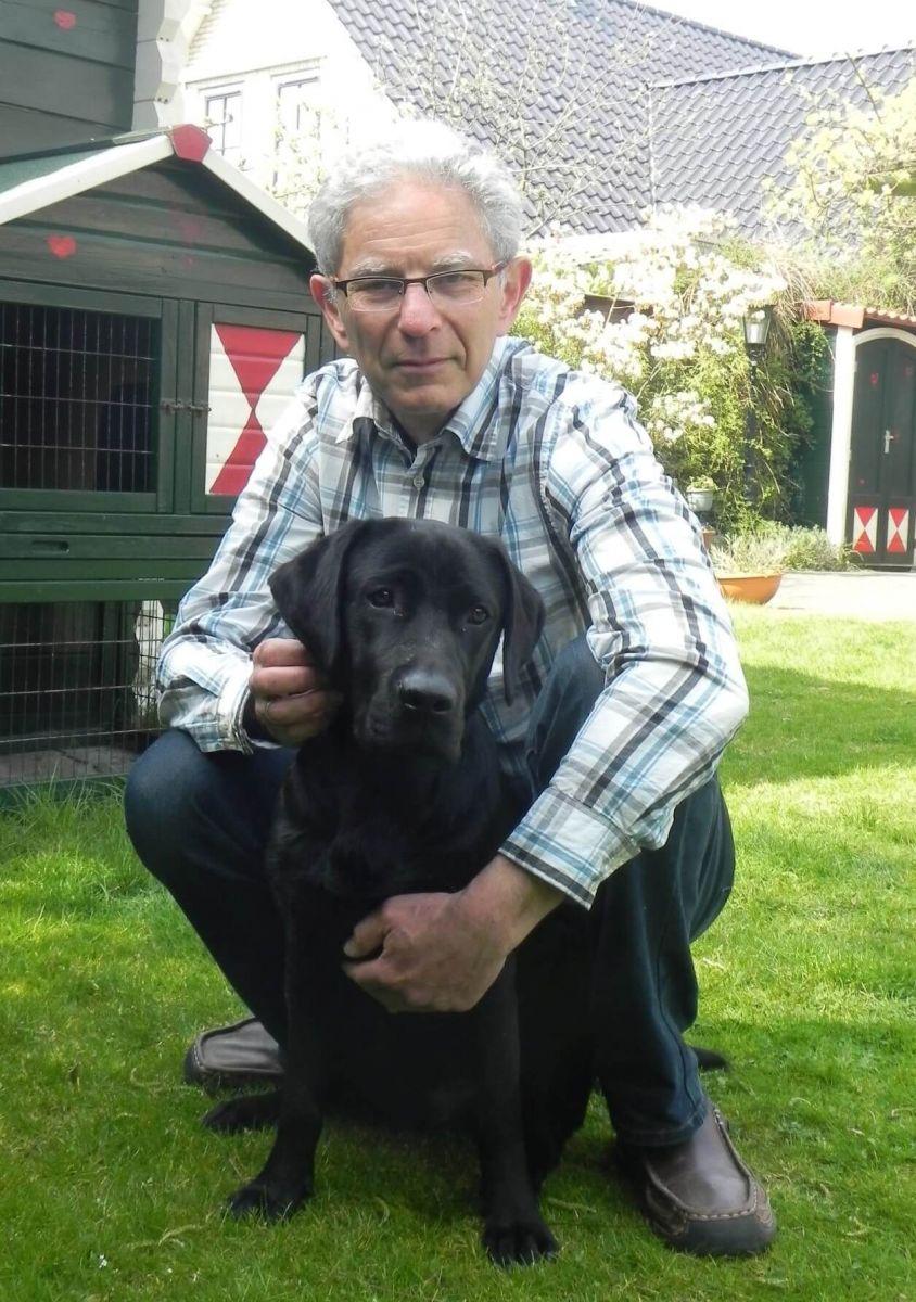 Gery Yanover met hond Luna