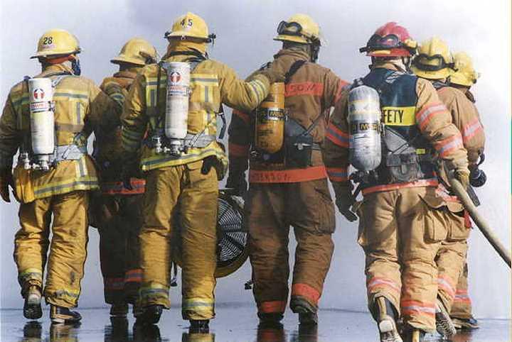 cuerpo bomberos rescate