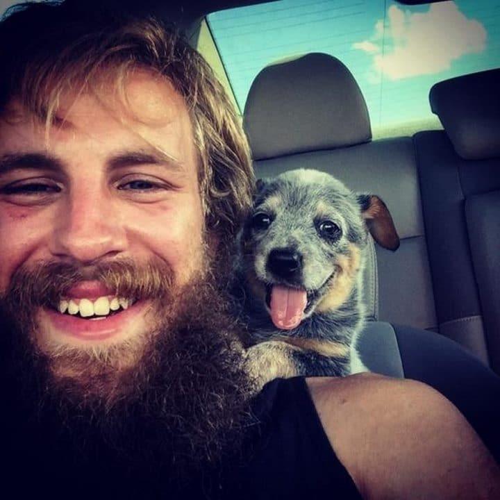 perra y amo sonrisas