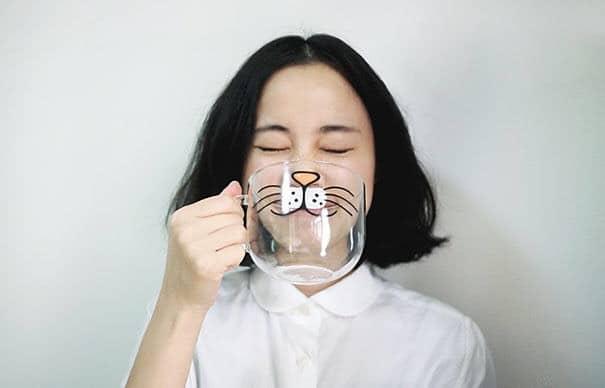 regalo taza de gato para loca de los gatos