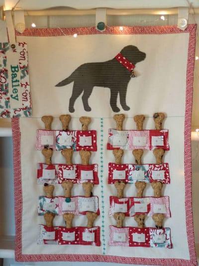 calendario perro artesanal