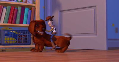 buster perro toy story