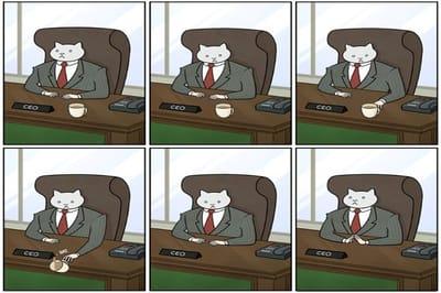 meme gato comic