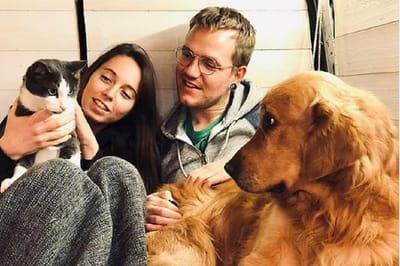 marion flo viajan perro gato furgoneta instagram
