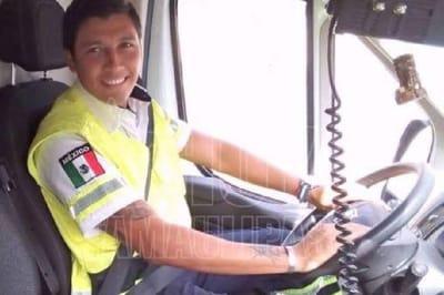 Miguel López fue amagado al salir de su guardia
