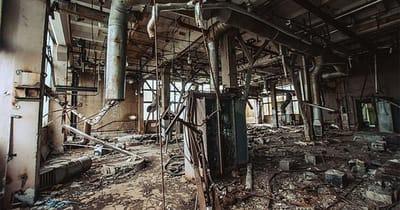 fabrica abandonada rusia