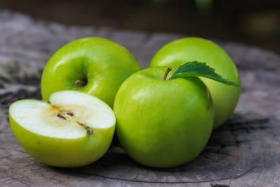 manzanas perros alimentos fruta