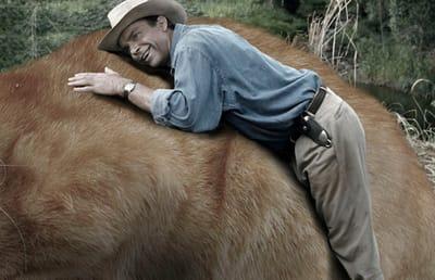 Alan Grant sonrie gato Jurassic Park