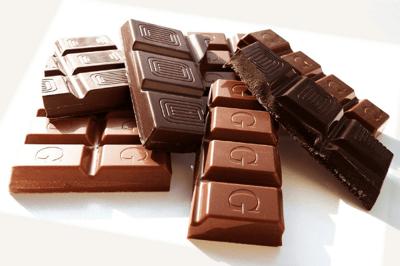chocolate amargo y chocolate con leche