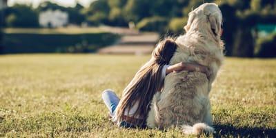 decir adiós a un perro