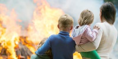 Brand in Familienhaus: Drama um Lebensretterin auf vier Pfoten