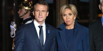 Il cane di Macron e le sue simpatiche bravate