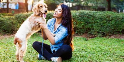 How should you talk to your dog?