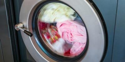 Waschmaschine im Schleudergang