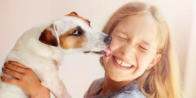 Schlabber-Alarm: Warum Hunde uns Menschen ablecken
