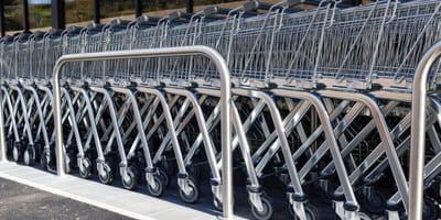 In aller Frühe: Schlimmer Fund in ALDI-Einkaufswagen