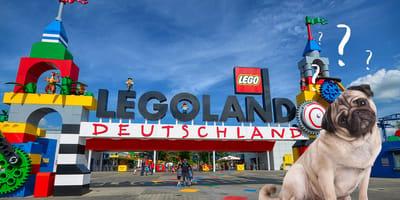 Hund im Legoland
