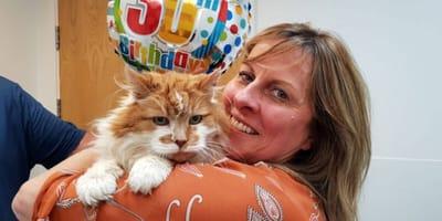 Cat celebrates 30th birthday