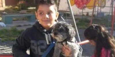 Bambino autistico offre la sua bici per farsi restituire il cane