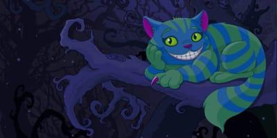 Cheshire Cat aus Alice im Wunderland