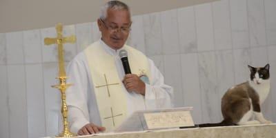 W tym kościele mszę odprawia nie tylko ksiądz…