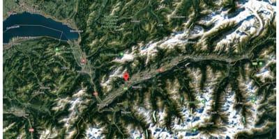 Svizzera dall'alto