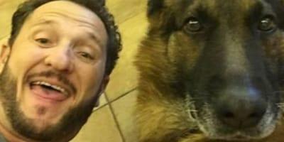 Enzo Salvi e il suo cane