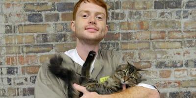 Resocjalizacja z udziałem kotów odniosła ogromny sukces