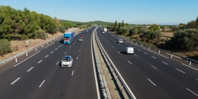 Driver witnesses shocking scene on the motorway