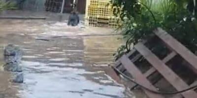 refugio inundado gota fria murcia