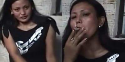 L'oscura verità dietro un video di una donna che fuma