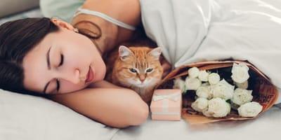 ¿Mi gato está celoso de mi pareja?