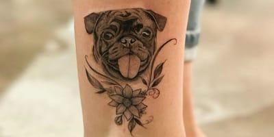 Die schönsten Mops-Tattoos auf Instagram