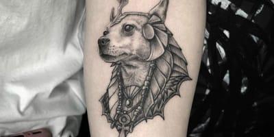 Die schönsten Chihuahua-Tattoos auf Instagram