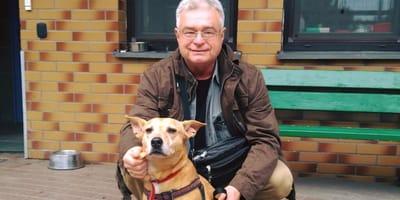 Hund nach 9 Jahren weggegeben