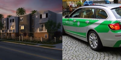 Police visit apartment over loud music complaints