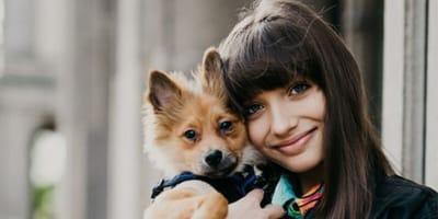 Viki Gabor prezentuje swojego ukochanego psa