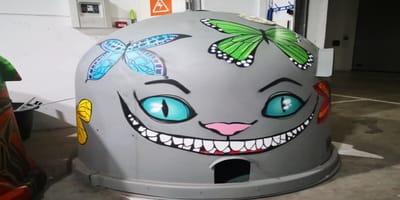 contenedor reciclaje colonia gatos palma iniciativa