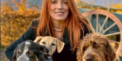 michela-vittoria-brambilla-con-dei-cani