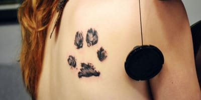 10 bellos tatuajes de huellas de perro para inspirarte
