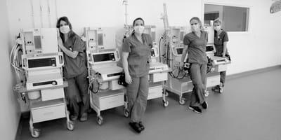 Koronawirus – COVID-19: klinika weterynaryjna oddaje respiratory, by pomóc szpitalom
