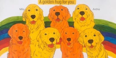 disegno cani pet-therapy