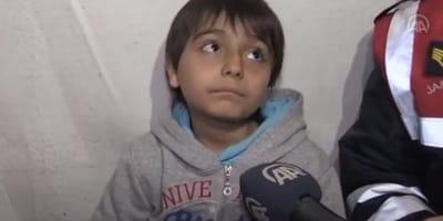 chłopiec z Turcji